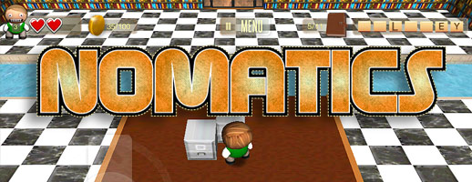Nomatics Video Game Available on iPhone, iPad and the Browser!