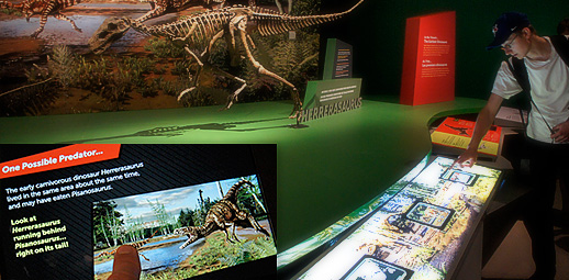 ROM Ultimate Dinosaurs : Interactive Touch iPad Application on site